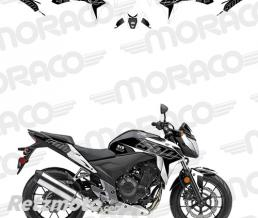 UP Kit Deco UP MAXIMIZE HONDA CB500F 13->15 noir-blan