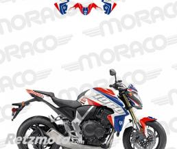 UP Kit Deco UP MAXIMIZE HONDA CB1000R 08->16 rouge-bl