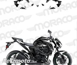 UP Kit Deco UP MAXIMIZE KAWASAKI Z800 13->16 noir-bla