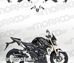 UP Kit Deco UP MAXIMIZE SUZUKI GSR750 08->16 noir-bla