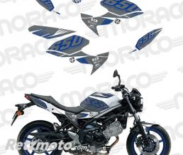 UP Kit Deco UP MAXIMIZE SUZUKI SV650 08->16 gris-blan