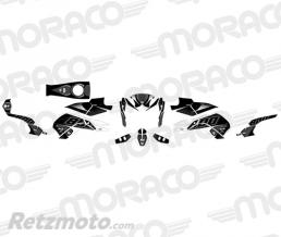 UP Kit Deco UP MAXIMIZE YAMAHA FZ8 10->14 noir-blanc