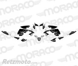 UP Kit Deco UP MAXIMIZE YAMAHA XJ6 13->15 noir-blanc