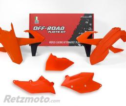 RTECH kits plastique KTM orange fluo RKITKTMAN0417