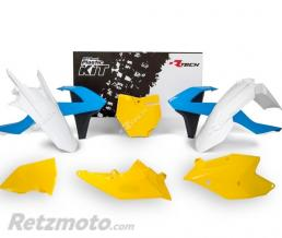 RTECH Kits plastique KTM VINTAGE LIGHT BLUE/YELLOW/W