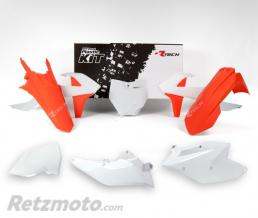 RTECH Kit plastique Rtech Blanc Orange