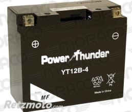 POWER THUNDER Batterie Power Thunder YT12B-4