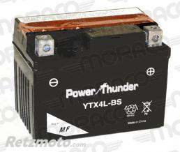 POWER THUNDER Batterie Power Thunder YTX4L-BS