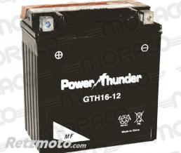 POWER THUNDER Batterie Power Thunder YTH16-12 (YTX16-BS)