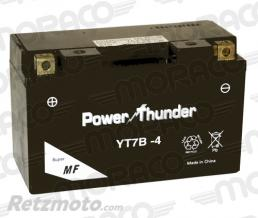 POWER THUNDER Batterie Power Thunder YT7B-4