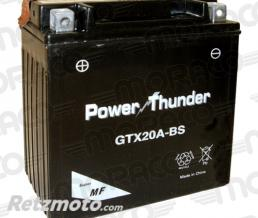 POWER THUNDER Batterie Power Thunder GTX20A-BS