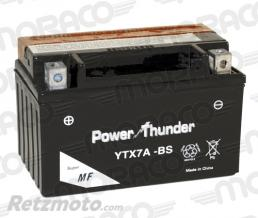 POWER THUNDER Batterie Power Thunder YTX7A-BS
