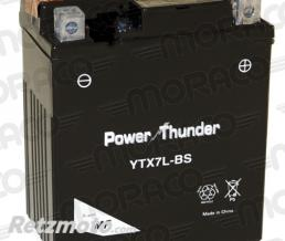 POWER THUNDER Batterie Power Thunder YTX7L-BS