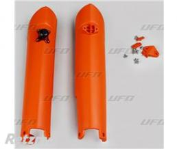 UFO Protections de fourche UFO orange KTM