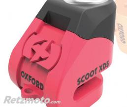 OXFORD Bloque disque OXFORD Scoot XD5 Ø5mm rose/noir
