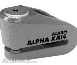 OXFORD Bloque disque alarme OXFORD Alpha XA14 Ø14mm inox