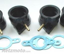 BIHR KIT PIPES D'ADMISSION 4PCS POUR FZ600 1986-88