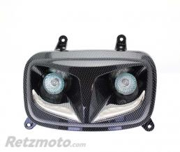 BIHR FEUX BOOSTER LED R8 LOOK CARBONE
