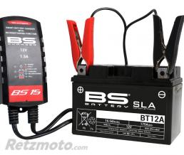 BS BATTERIE Chargeur de batterie intelligent BS BS15