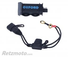 OXFORD Chargeur USB OXFORD USB 2.1amp. Connection sur batterie
