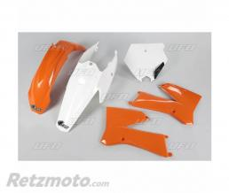 UFO Kit plastique UFO couleur origine orange/blanc KTM SX85