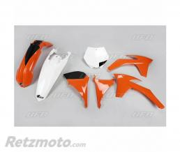 UFO Kit plastique UFO couleur origine orange/blanc KTM