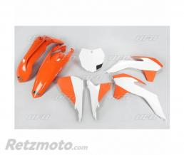 UFO Kit plastique UFO couleur origine (2015) orange/blanc KTM