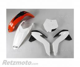 UFO Kit plastique UFO origine (2017) orange/blanc/noir KTM SX85