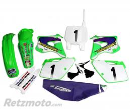 UFO Kit plastique & déco UFO EMIG Team USA Replica Kawasaki KX125/250