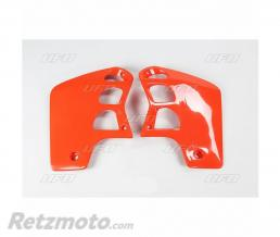 UFO Ouïes de radiateur UFO orange Honda CR500R