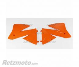 UFO Ouïes de radiateur UFO orange KTM EXC