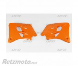 UFO Ouïes de radiateur UFO orange KTM SX60/65