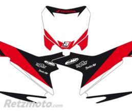 BLACKBIRD Fonds de plaque BLACKBIRD Graphic blanc Honda CRF250R/450R