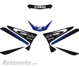 BLACKBIRD Fonds de plaque BLACKBIRD Graphic blanc Yamaha YZ125-250