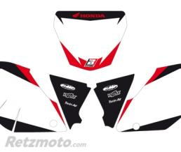 BLACKBIRD Fonds de plaque BLACKBIRD Graphic blanc Honda CRF250R