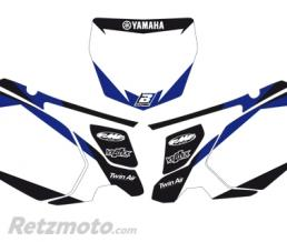 BLACKBIRD Fonds de plaque BLACKBIRD Graphic blanc Yamaha YZ450F
