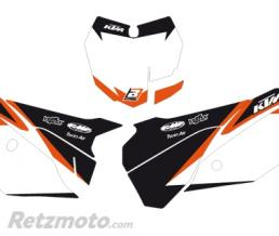 BLACKBIRD Fonds de plaque BLACKBIRD Graphic blanc KTM