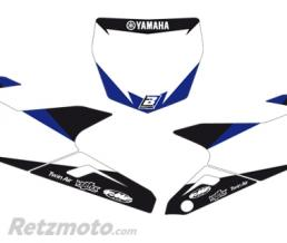 BLACKBIRD Fonds de plaque BLACKBIRD Graphic blanc Yamaha YZ250F/450F