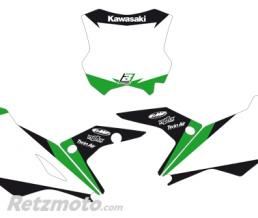 BLACKBIRD Fonds de plaque BLACKBIRD Graphic blanc Kawasaki KX450F