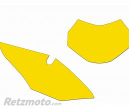 BLACKBIRD Fonds de plaque BLACKBIRD jaune Honda CRF450RX