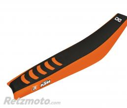 BLACKBIRD Housse de selle BLACKBIRD Double Grip 3 noir/orange KTM SX85