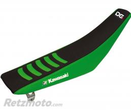 BLACKBIRD Housse de selle BLACKBIRD Double Grip 3 vert/noir Kawasaki KX250F/450F
