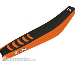 BLACKBIRD Housse de selle BLACKBIRD Double Grip 3 orange/noir KTM SX85