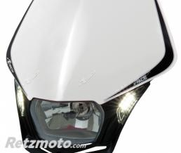 RACETECH Plaque phare RACETECH V-Face Led blanc