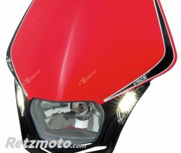RACETECH Plaque phare RACETECH V-Face Led rouge