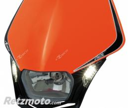 RACETECH Plaque phare RACETECH V-Face Led orange