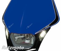 RACETECH Plaque phare RACETECH V-Face Led bleu