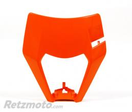 RACETECH Plastique de plaque phare RACETECH orange KTM EXC