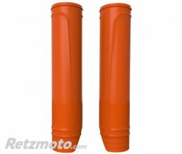 POLISPORT Protections de fourche POLISPORT orange 228 à 252mm
