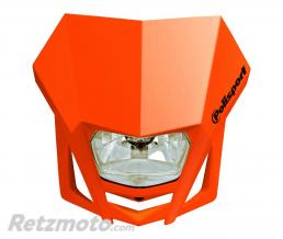 POLISPORT Plaque phare POLISPORT LMX orange